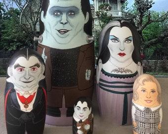 The Munsters Matryoshka Dolls