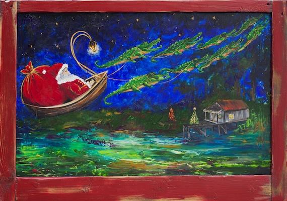 image 0 - Cajun Night Before Christmas