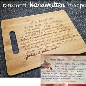 Letter writing sheets Cutting Board