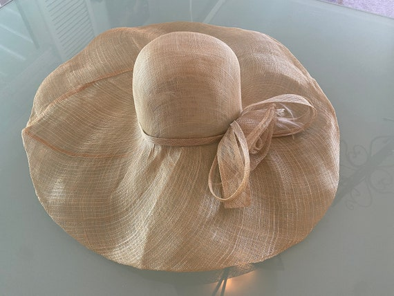 Scala Very Wide Brim Sheer Sunhat One Size.  Never