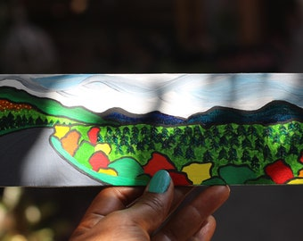 Mini Create Sunshine Painting of Dempster Highway in Yukon Canada