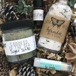 Spa Gift Set // Medium // Organic Bath // Bath Set