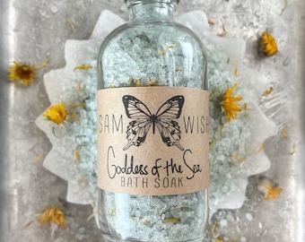 Goddess Of The Sea Bath Soak // All Natural // Organic // Vegan