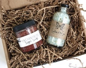 Organic Spa Gift Set //  Extra Small // All Natural // Vegan // Bath Set // For Her // For Mom