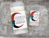 Organic Lavender & Melaleuca Deodorant // All Natural // Aluminum-Free // Small + Large