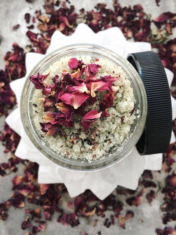 Organic Goddess of the Sea Sugar Scrub  // All Natural // Vegan