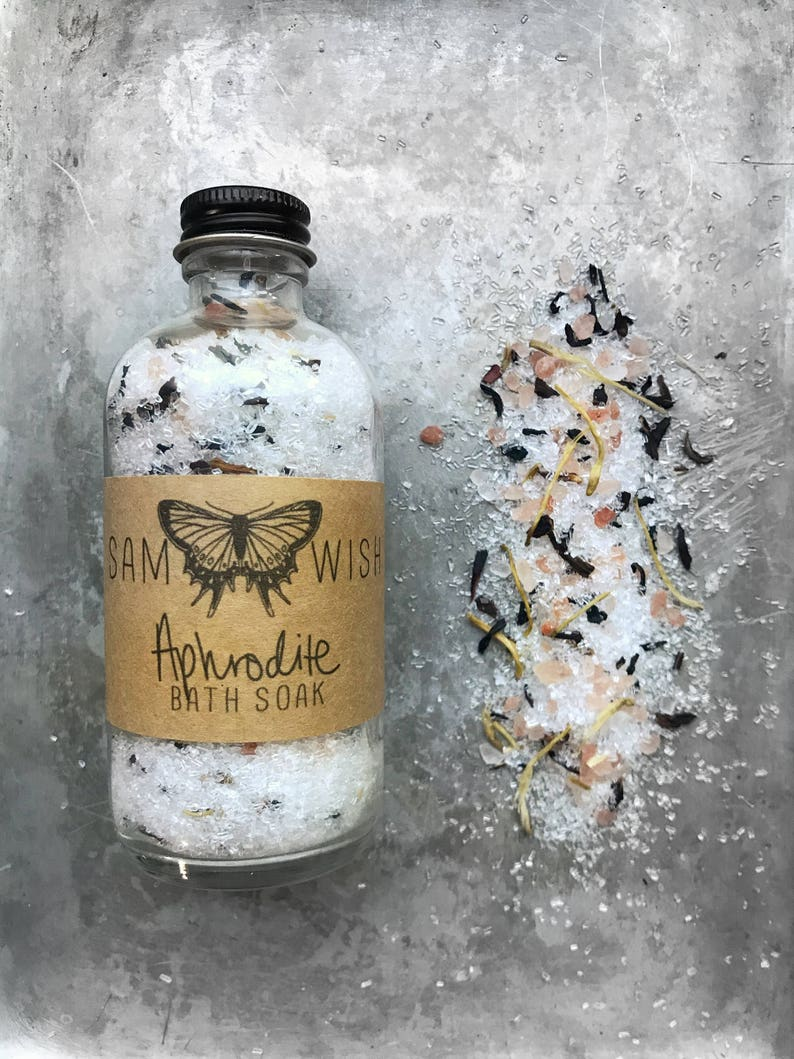 Aphrodite Bath Soak All Natural Organic Vegan image 0