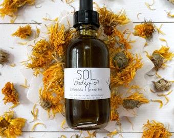 Sol Body Oil // Organic