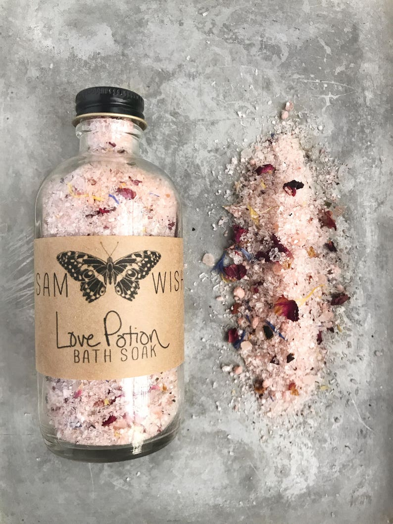 Love Potion Bath Soak // Valentine's Day // All Natural // image 0