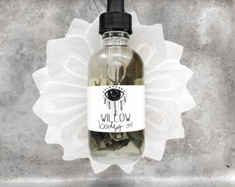 Organic Willow Body Oil // All Natural // Vegan