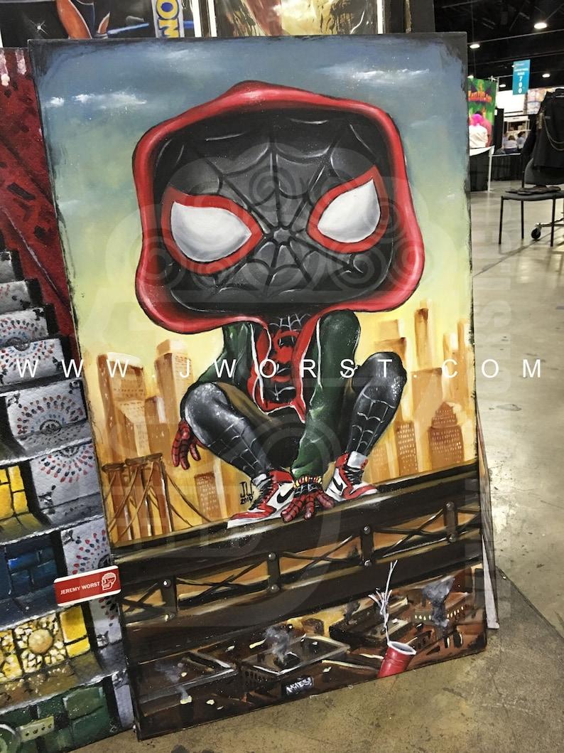 Miles Pop Morales Jeremy Worst Spiderman avengers marvel image 0