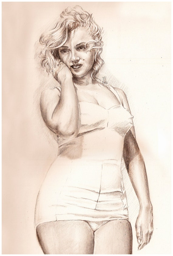 Marilyn monroe nude drawing, mature women and boys xxx