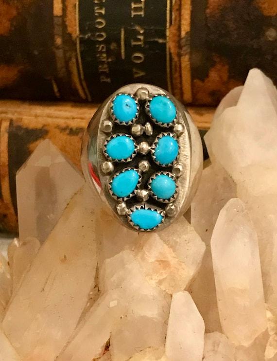 Beautiful Native American Sterling Silver RARE Sle