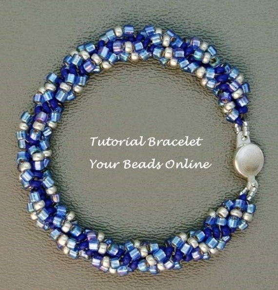 Items Similar To Jewelry Beading Tutorial Spiral Rope