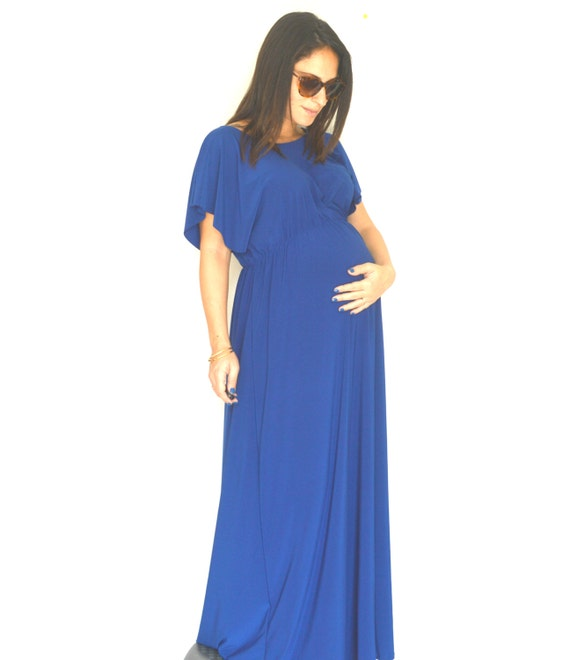 Elegant Maternity Dress Maxi Maternity Dresslong Plus Size Etsy