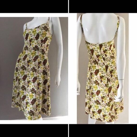 Vintage 1960s Horrockses fashions cotton sundress