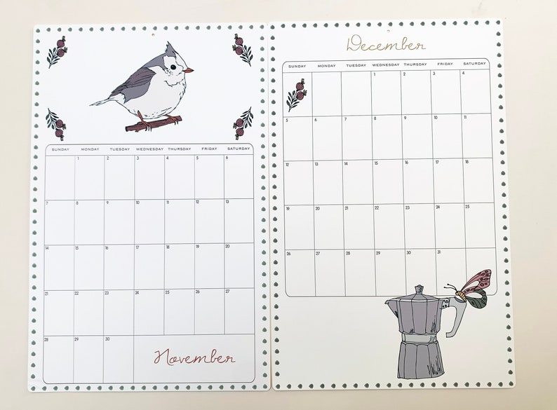 2021 Wall Calendar Size 11x17 inches featuring 12 ...