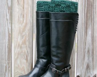 Crochet Pattern, Boot Cuffs Pattern, Boot Toppers Pattern Basketweave PDF Instant Download