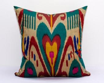 Ikat Pillow Covers Suzani Pillows Uzbek