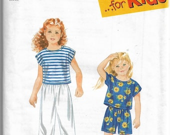9467 Simplicity Pattern Pull on Pants Shorts Tops FF