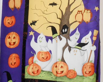 "HALLOWEEN PANEL-Cotton Fabric - One yard x 36"" wide -"