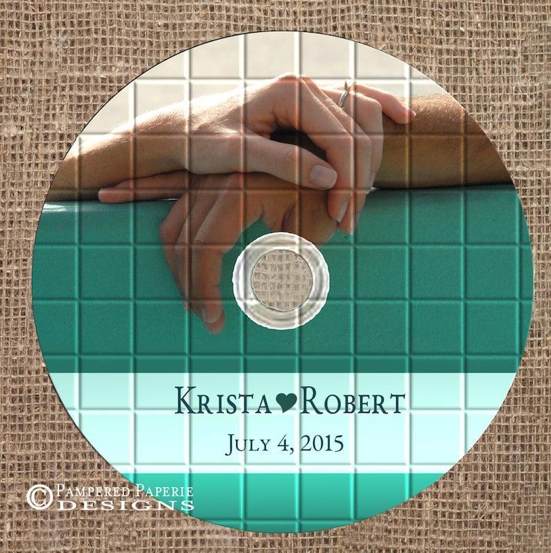 Photo CD Disc Custom Printed Not a Template