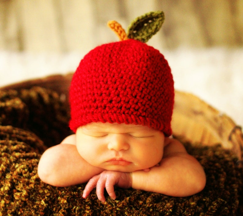 Baby Hat CROCHET PATTERN in 5 sizes 0-10 years Baby Child An image 0