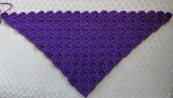 CROCHET PATTERN Baby Blanket Afghan Build-A-Diagonal-Shell | Etsy