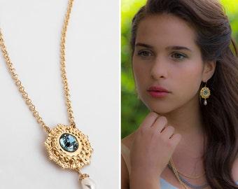 First year anniversary gift, 1 year anniversary gift for her, One year anniversary hewelry, Jewelry set