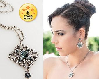 10 year anniversary gift, 10 year wedding anniversary, Silver anniversary, Anniversary jewelry, 10 year wedding anniversary gift for her