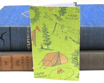 Small Camping Notebook / Journal / Sketchbook