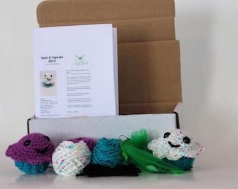 Cupcake Crochet Kit