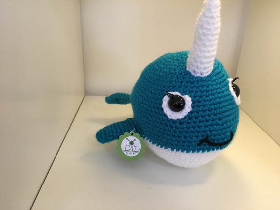 Cecilia The Narwhal Crochet Pattern Instructions Etsy