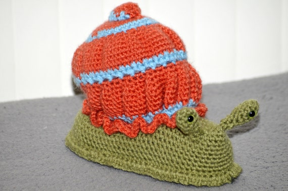 Silas The Snail Crochet Pattern Instructions Etsy