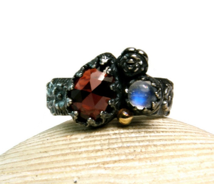 red moonstone ring - photo #8