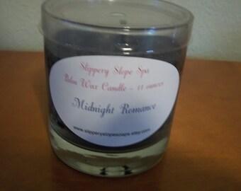 Palm Wax Candle - Midnight Romance - 11 ounces