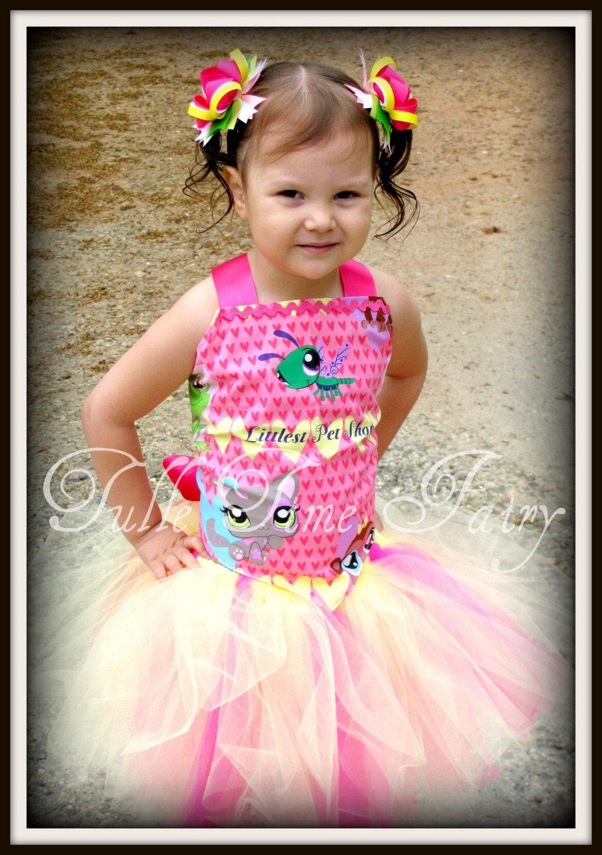 Vestido de LPS Littlest Pet shop corset cumpleaños tutú | Etsy