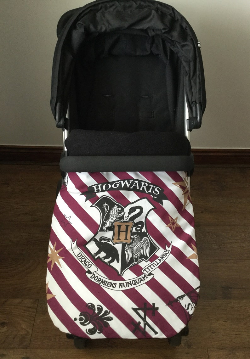 Handmade stay put blanket harness strap covers  harry potter image 0