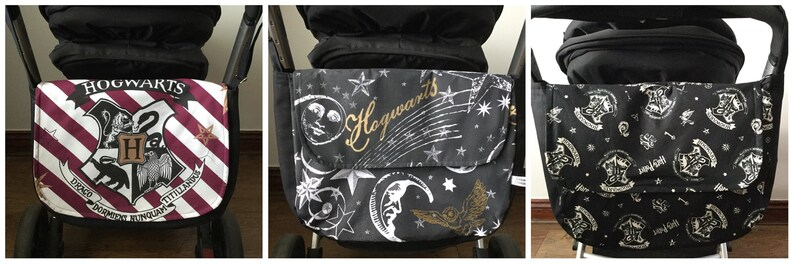 Hand made pram baby changing bag diapers nappies  Harry Potter image 0