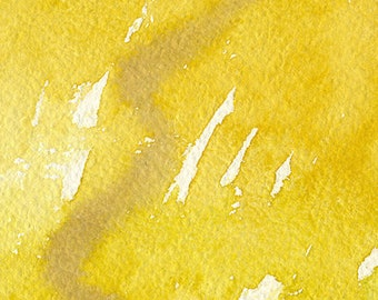 fields of gold, walking hand in hand, original watercolor (free shipping)