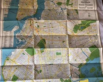 Old Ny Subway Map.Vintage Subway Map Etsy