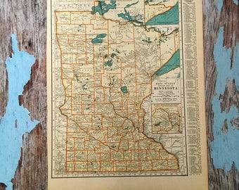 Mississippi Map Etsy - Framing a map print