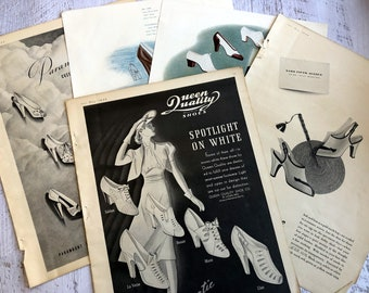 c881da3dc8bac Ladies shoe ads | Etsy