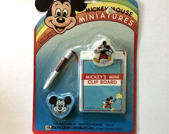 mini Vintage Mickey Mouse Eraser