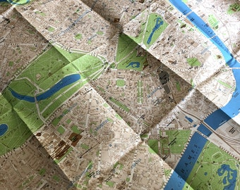 City Of London Tourist Map.London Tourist Map Etsy
