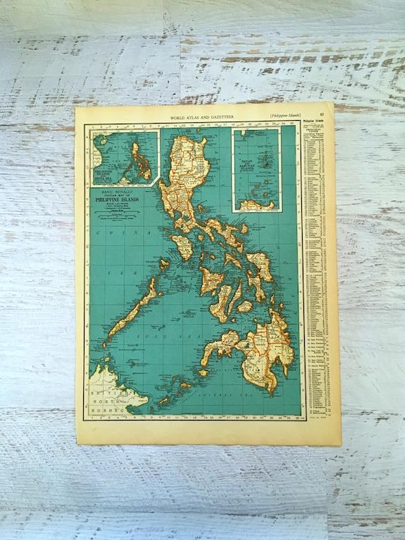 Frankreich Vintage Antik Alt Farbe Reproduktion Französisch Landkarte