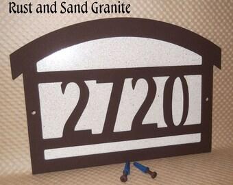 f0598d767cb Arts and Craft address sign