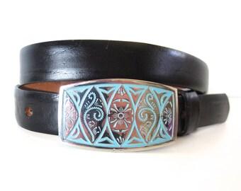 Vintage Western Belt by McGregor // Size L