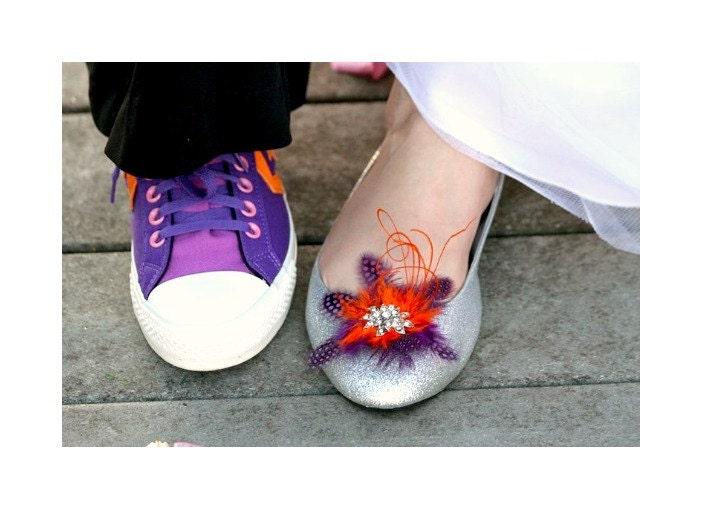 des strass et violet chaussures orange et strass 6c2932