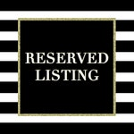 7/2 Reserved for Tracy